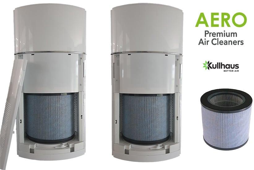 σύστημα φιλτραρίσματος και καθαρισμού αερα AERO. Ρύπανση εσωτερικών χωρών